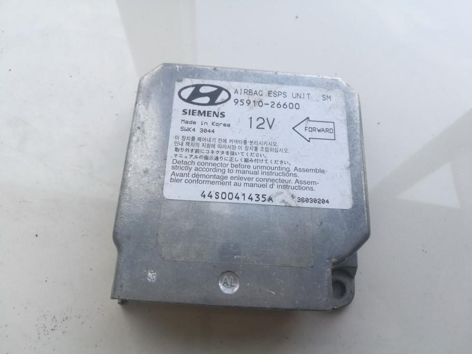 Hyundai  Santa Fe Airbag crash sensors module