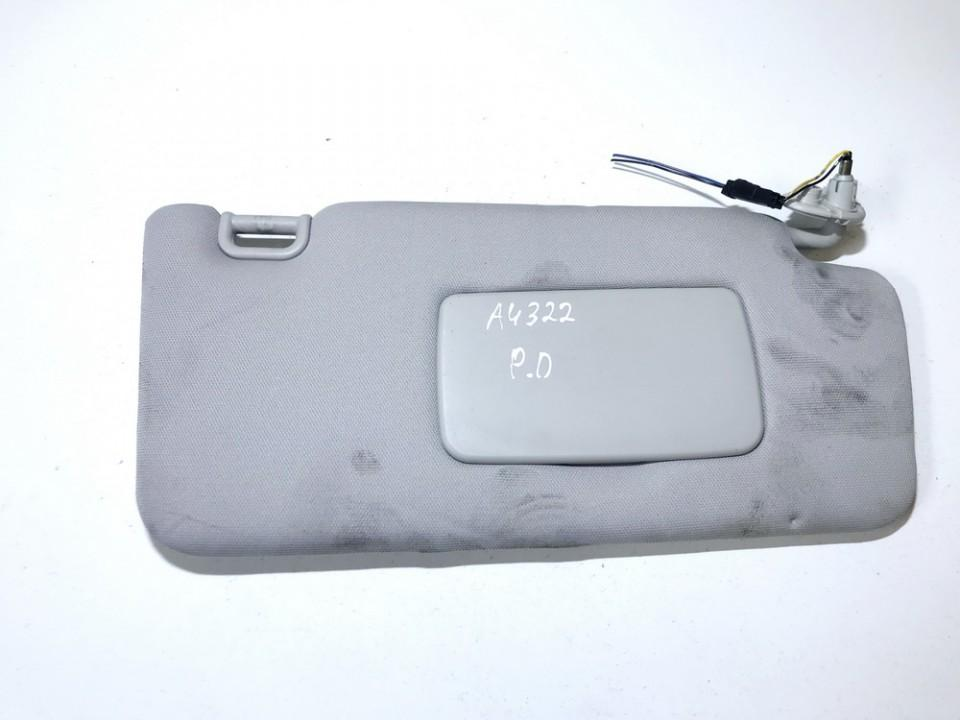 Subaru  Legacy Sun Visor, With Light and Mirror and Clip