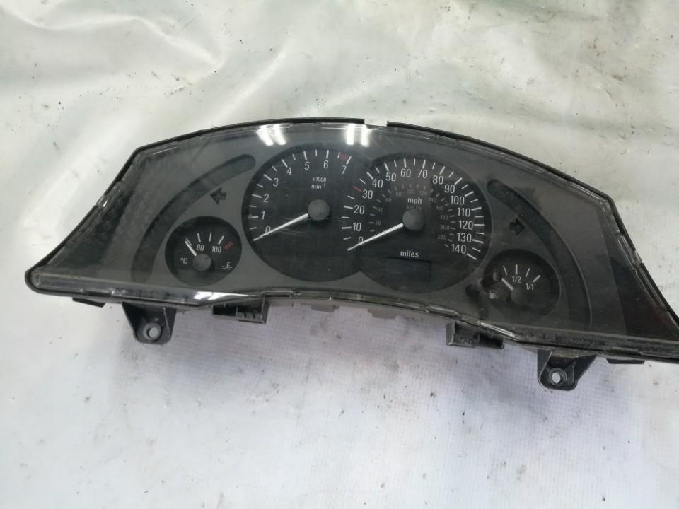 Spidometras - prietaisu skydelis 13163909DD 151203E Opel MERIVA 2005 1.7