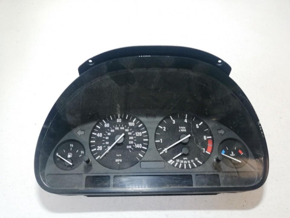 Spidometras - prietaisu skydelis 62116942213 62.11-6942213, a2c53079997, 88311242, 3319210135 BMW X5 2003 3.0