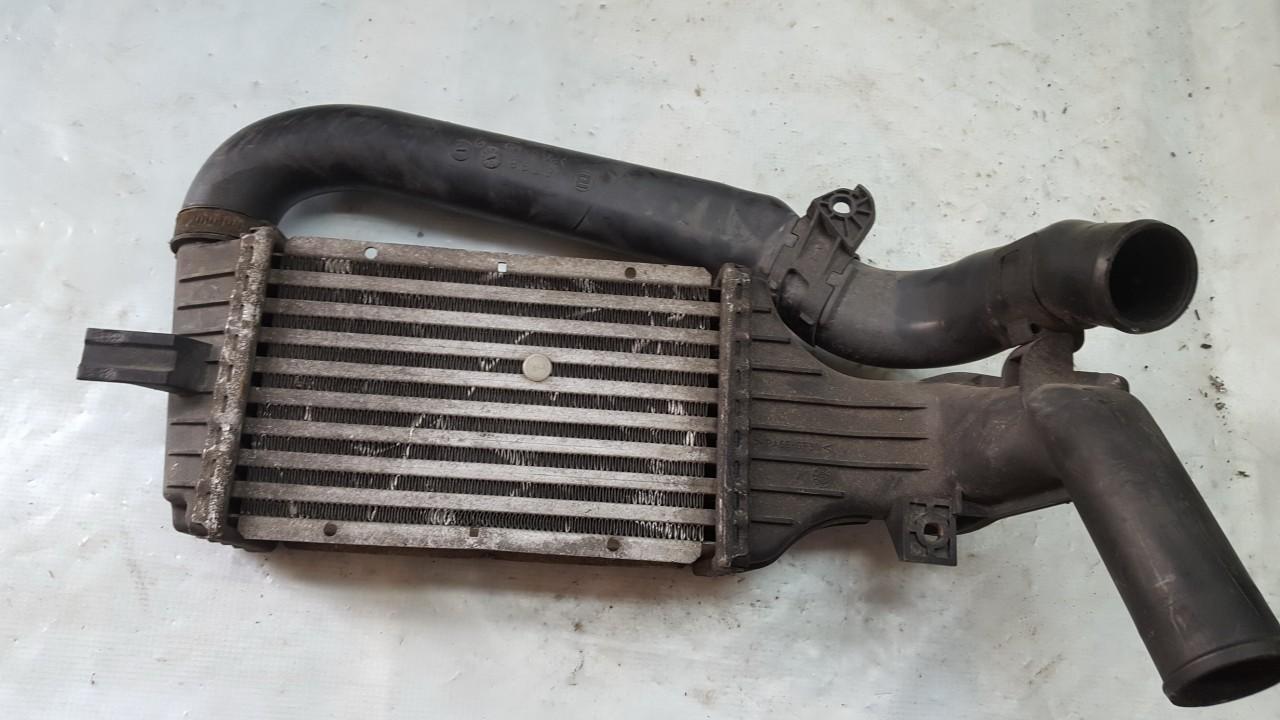 Радиатор интеркулера 09129519 73645, 6103 Opel MERIVA 2005 1.7