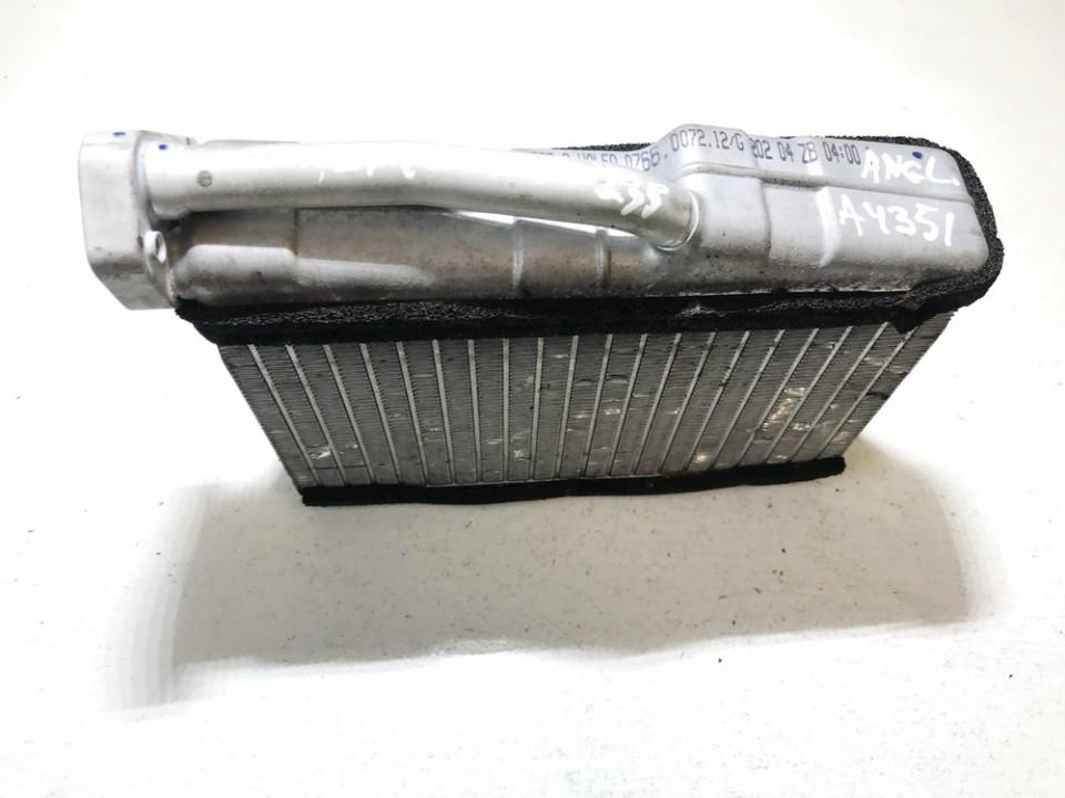 Salono peciuko radiatorius 641183855629 0766007212 BMW X5 2004 3.0