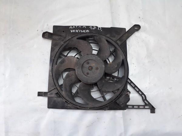 Difuzorius (radiatoriaus ventiliatorius) 0130303248 3 135 103 410 Opel ASTRA 2006 1.7