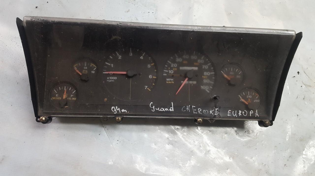 Spidometras - prietaisu skydelis 56005231 58994 Jeep GRAND CHEROKEE 1996 5.2
