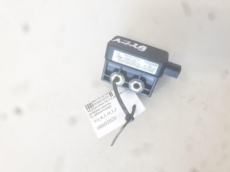 ESP greitejimo sensorius a0025427218q01 a002 5427218q01 Mercedes-Benz ML-CLASS 2002 2.7