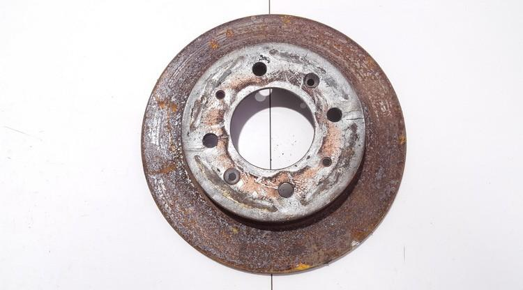 Тормозной диск - задний neventiliuojamas used Kia CERATO 2004 1.6