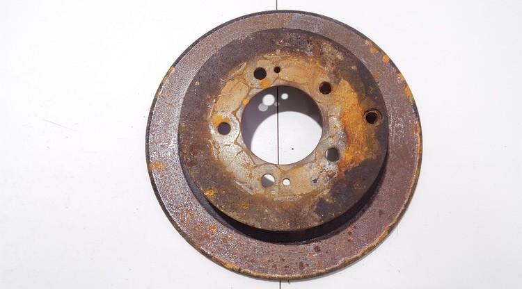 Galinis stabdziu diskas neventiliuojamas used Mitsubishi OUTLANDER 2004 2.4