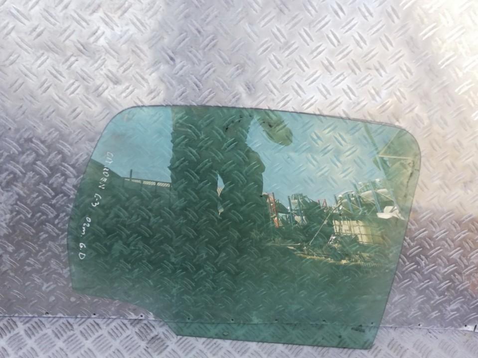 Duru stiklas G.D. used used Citroen C3 2004 1.4