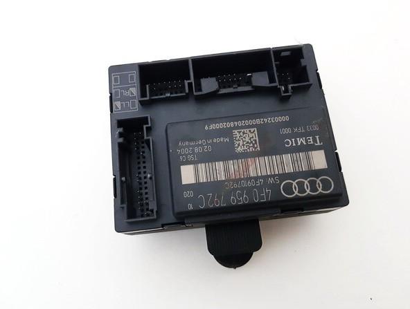 Audi  A6 Duru valdymo blokelis