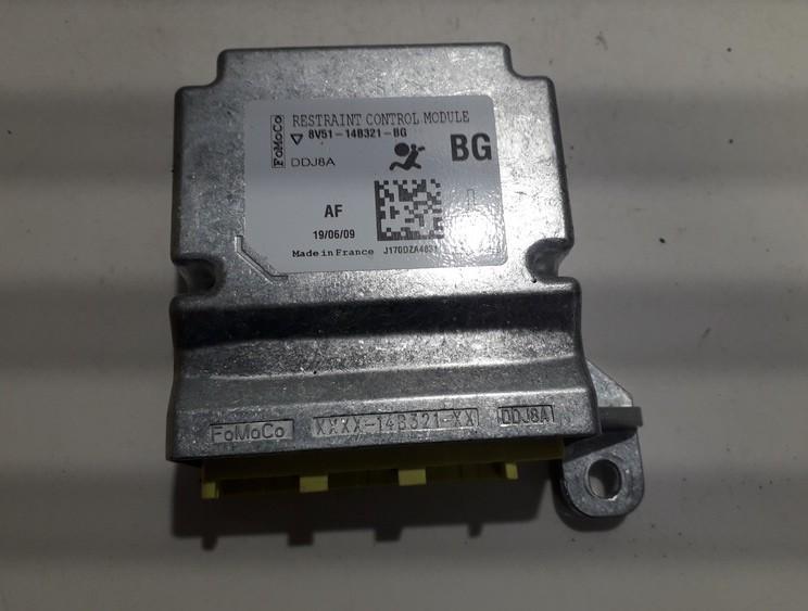 Блок управления AIR BAG  8V5114B321BG 8V51-14B321-BG Ford FIESTA 2001 1.8