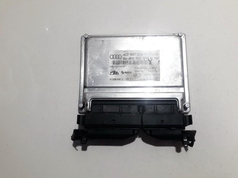 AIR SUSPENSION CONTROL MODULE AIRMATIC Audi A8 2004    3.0 4e0907553f