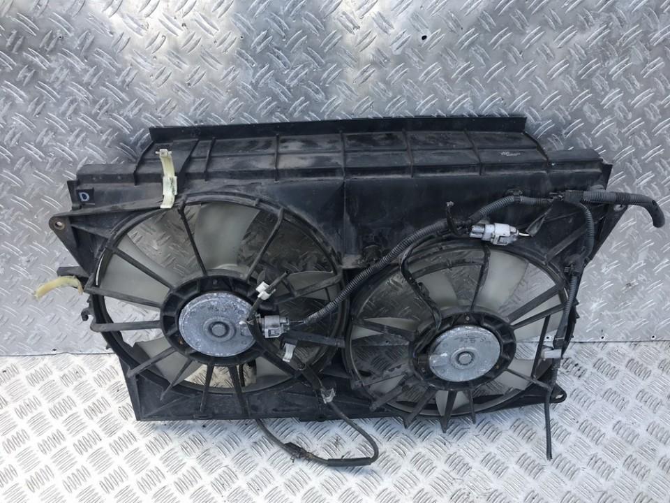 Difuzorius (radiatoriaus ventiliatorius) 4227501372 422750-1372 Toyota RAV-4 2007 2.2