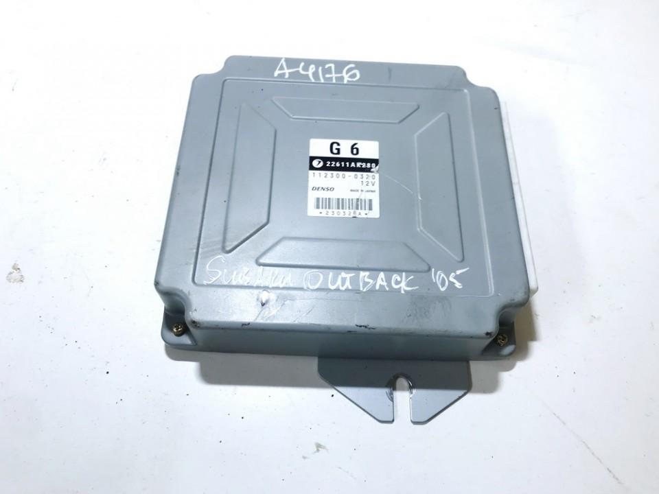 Variklio kompiuteris 22611ak280 112300-0320,  Subaru OUTBACK 2000 2.5