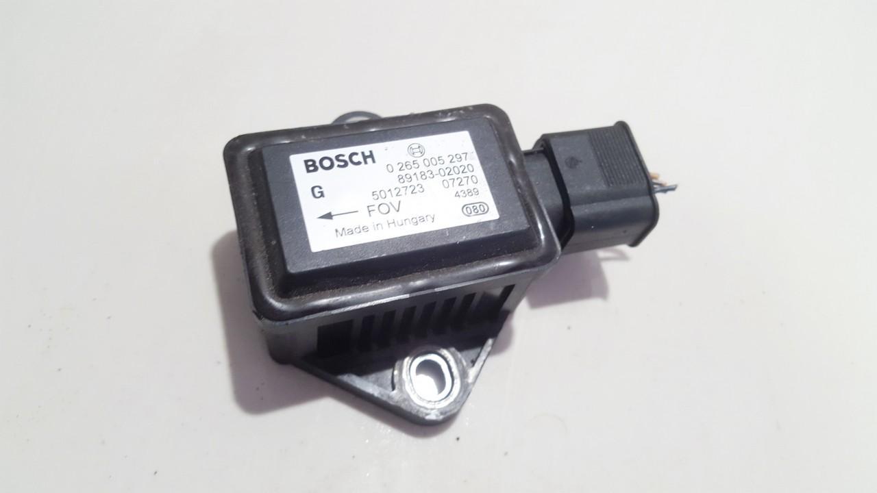 ESP greitejimo sensorius 0265005297 89183-02020 Toyota COROLLA VERSO 2005 2.2