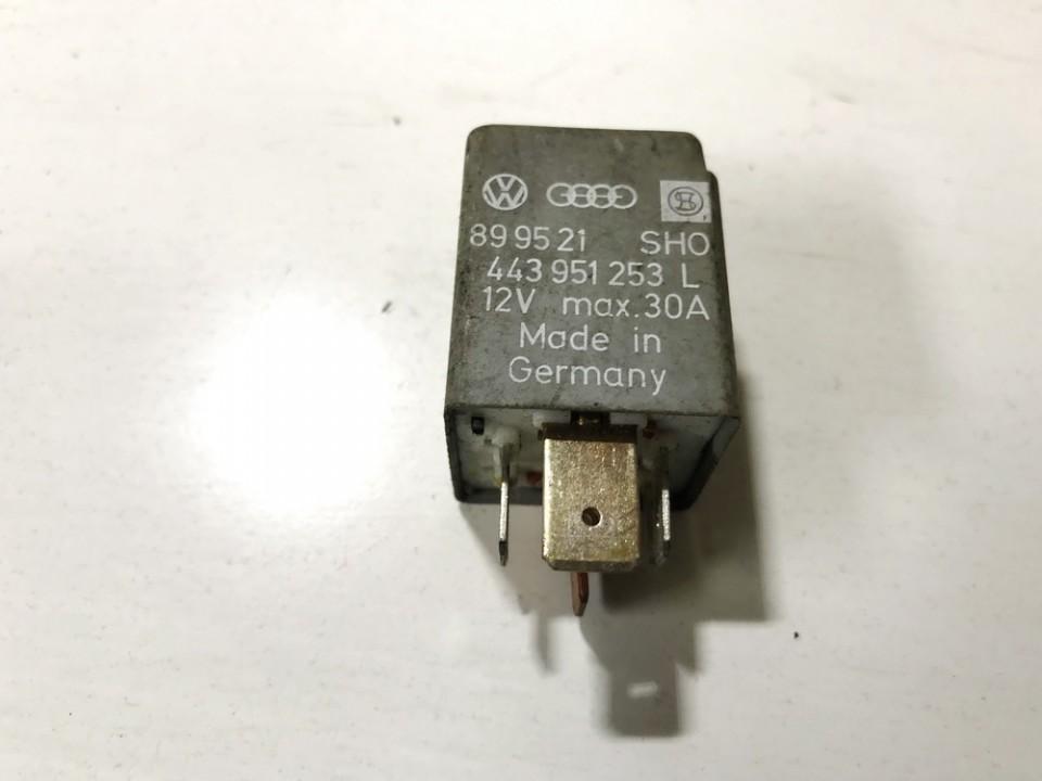 Блок электронный 443951253l 899521, 215 Audi 80 1987 1.8