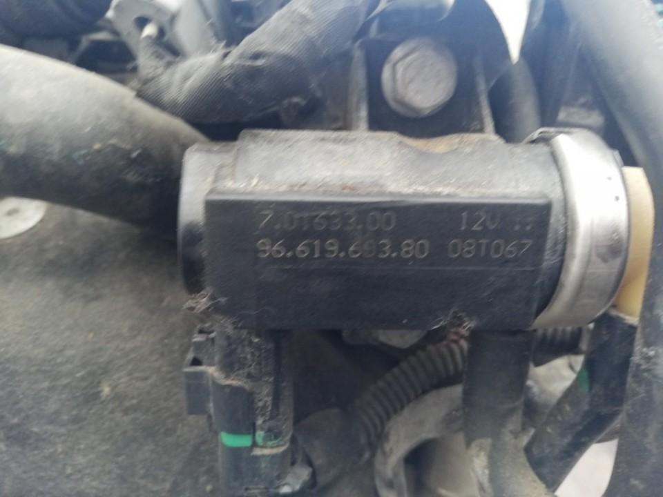 Selenoidas (Elektromagnetinis selenoidas) 9661969380 70163300, 07t067 Peugeot 407 2005 2.0