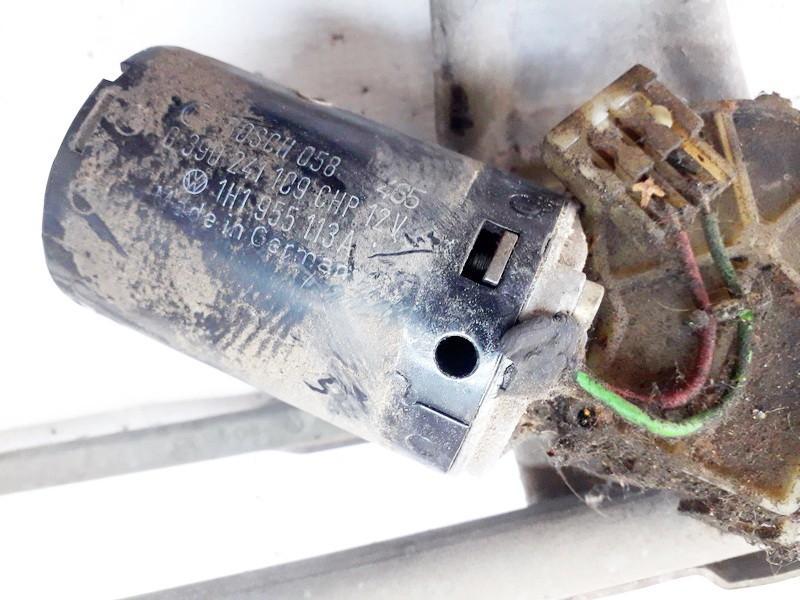Моторчик стеклоочистителя передний 1h1955113a 1h1 955 113 a Volkswagen GOLF 2002 1.6