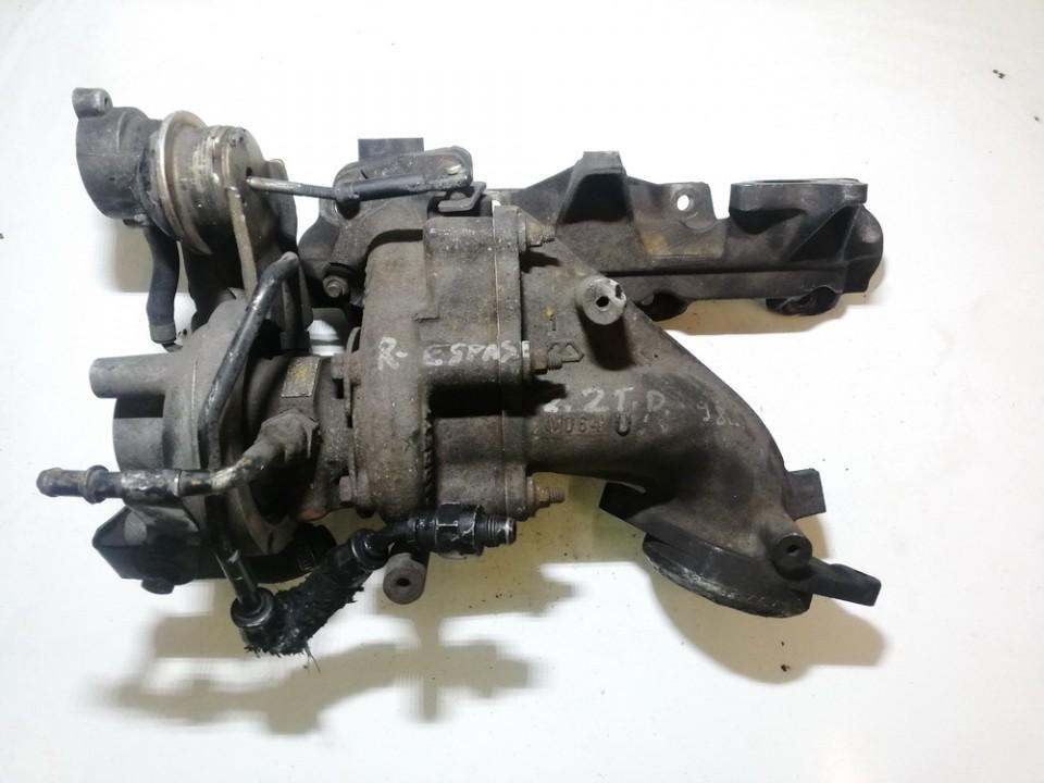Turbo Turbocharger 7700866502 700467-1tb025, ac26071 Renault ESPACE 1993 2.2