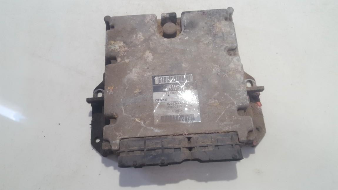 ECU Engine Computer (Engine Control Unit) 8973192822 275800-1523, 2758001523, 8200264013, 8200050919 Renault ESPACE 1990 2.1