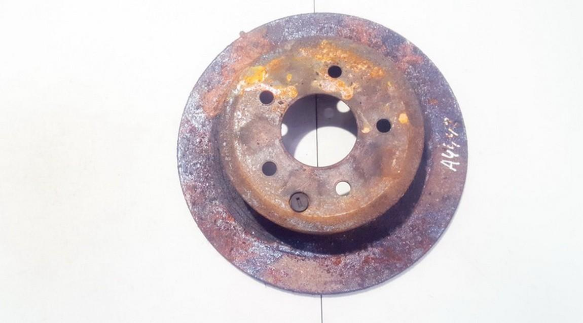 Galinis stabdziu diskas neventiliuojamas used Nissan QASHQAI 2009 1.5