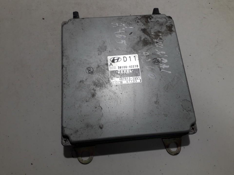 Variklio kompiuteris 3910042210 39100-42210, 407913-1651, 4079131651 Hyundai H200 1999 2.5