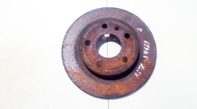 Brake Disc - Rear neventiliuojamas used Opel ASTRA 1998 2.0