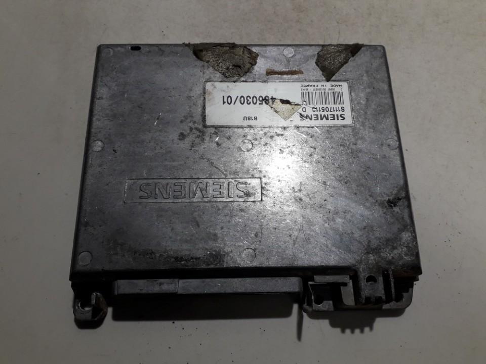 Variklio kompiuteris S111705113D 485030 Volvo 440 1991 1.7