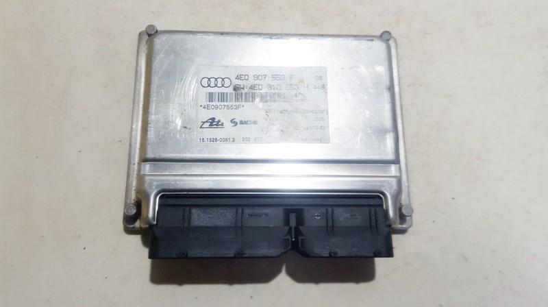 AIR SUSPENSION CONTROL MODULE AIRMATIC Audi A8 2003    3.0 4e0907553f
