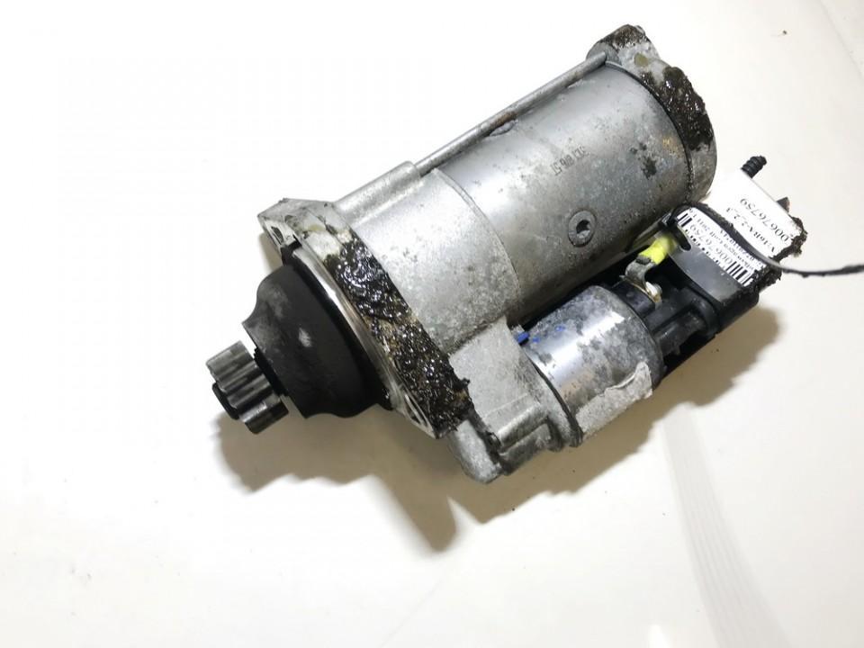 Starteris 02Z911024A USED Volkswagen GOLF 2005 1.6