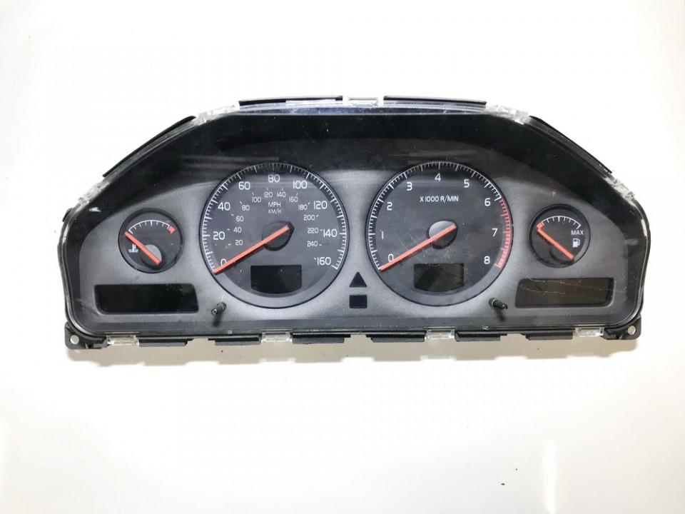 Spidometras - prietaisu skydelis 9499669 69294-590t, 9459821 Volvo S80 2000 2.9