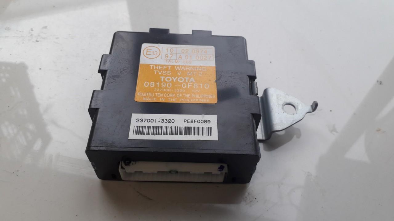 Signalizacijos blokelis 081900F810 08190-0F810, 237000-3320 Toyota COROLLA VERSO 2003 2.0