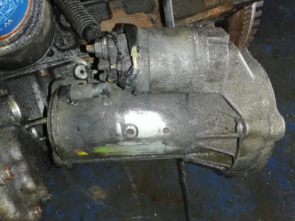 Starter Motor 29140869tmb d7r27 Lancia PHEDRA 2005 2.0