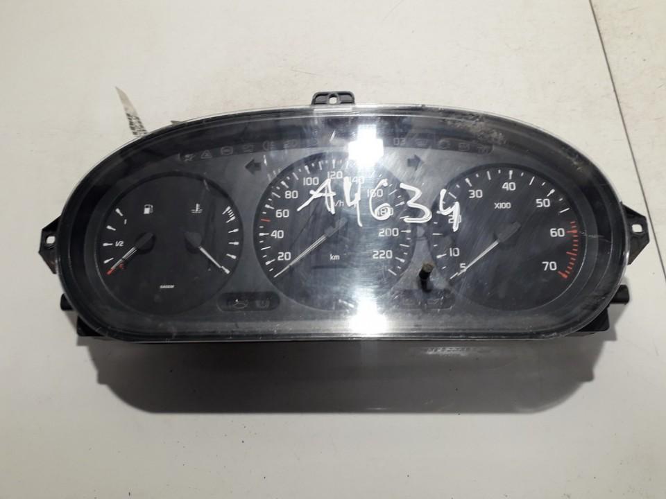 7700847782G 21578161-2, 215781612 Spidometras - prietaisu skydelis Renault Scenic 1998 2.0L 14EUR EIS00684491