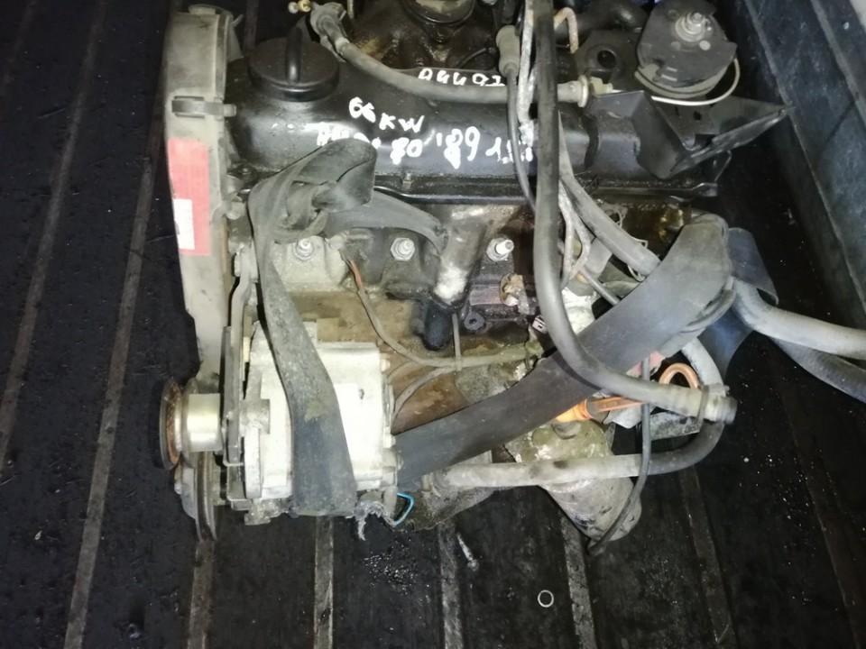 Variklis pm used Audi 80 1992 1.9