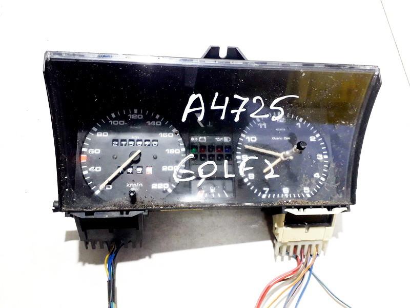 Speedometers - Cockpit - Speedo Clocks Instrument 191919033es 616.043.2131 Volkswagen GOLF 2001 1.9