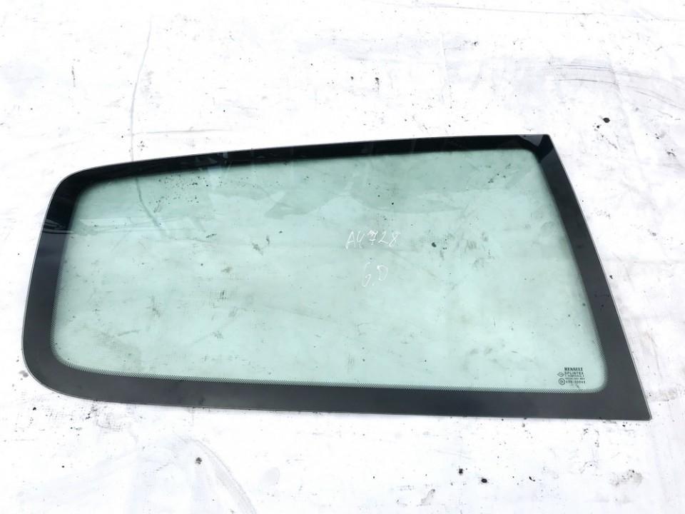 Renault  Clio Rear Right passenger side corner quarter window glass