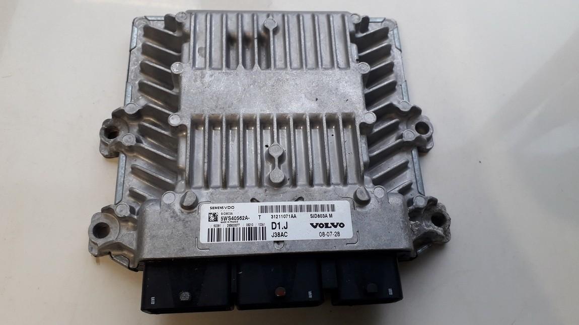 Variklio kompiuteris 31211071aa 5ws40562a Volvo C30 2008 2.0