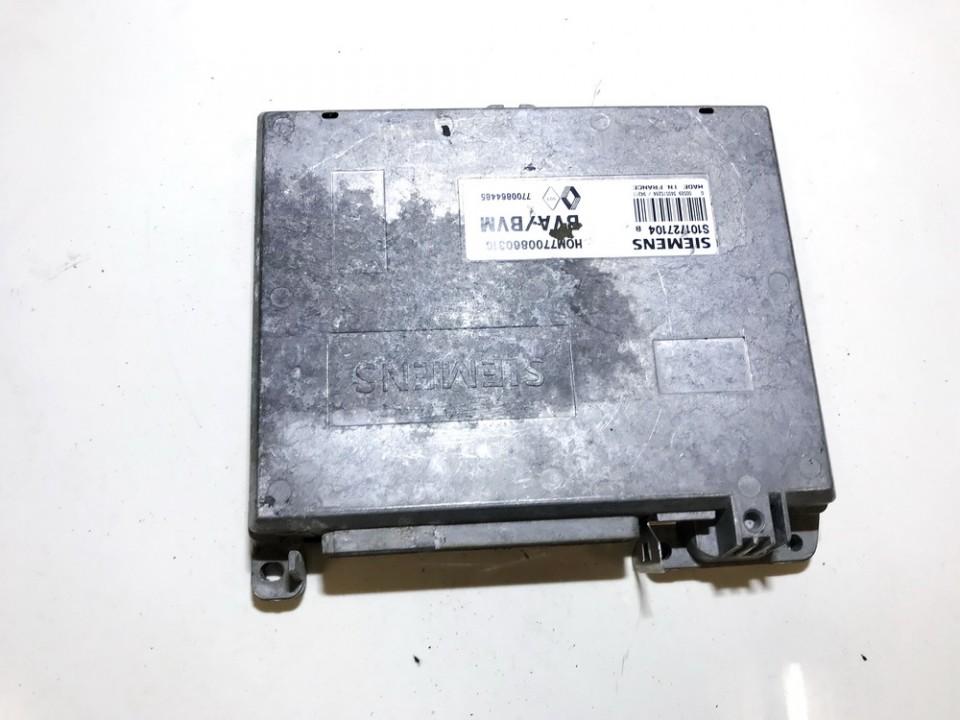 Variklio kompiuteris 7700860316 hom7700860316, 7700864485, s101727104b Renault LAGUNA 2003 2.2