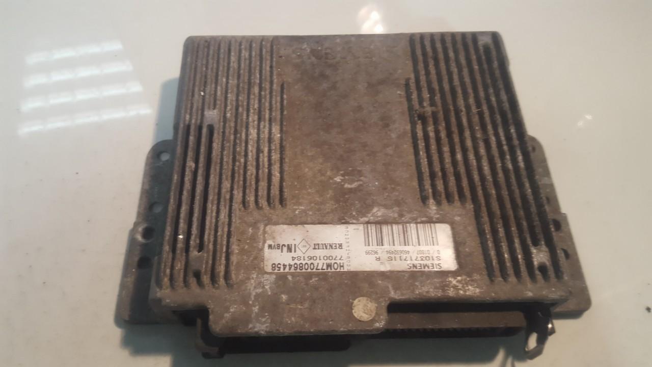 Variklio kompiuteris 7700106184 S103717115R, HOM7700864458 Renault LAGUNA 1998 1.9