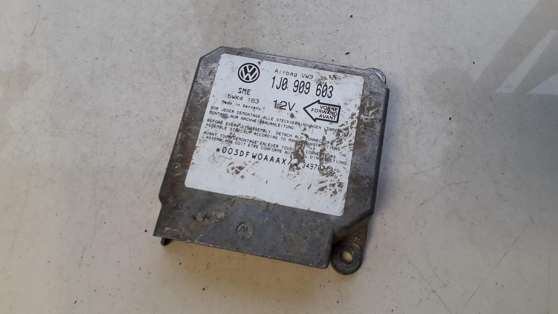 SRS AIRBAG KOMPIUTERIS - ORO PAGALVIU VALDYMO BLOKAS 1j0909603 5wk4163 Volkswagen GOLF 1994 1.9