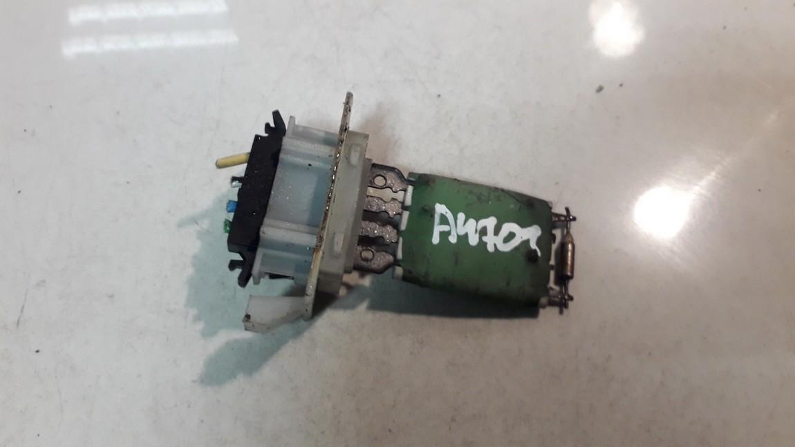 Heater Resistor (Heater Blower Motor Resistor) used used Volkswagen LUPO 1999 1.7