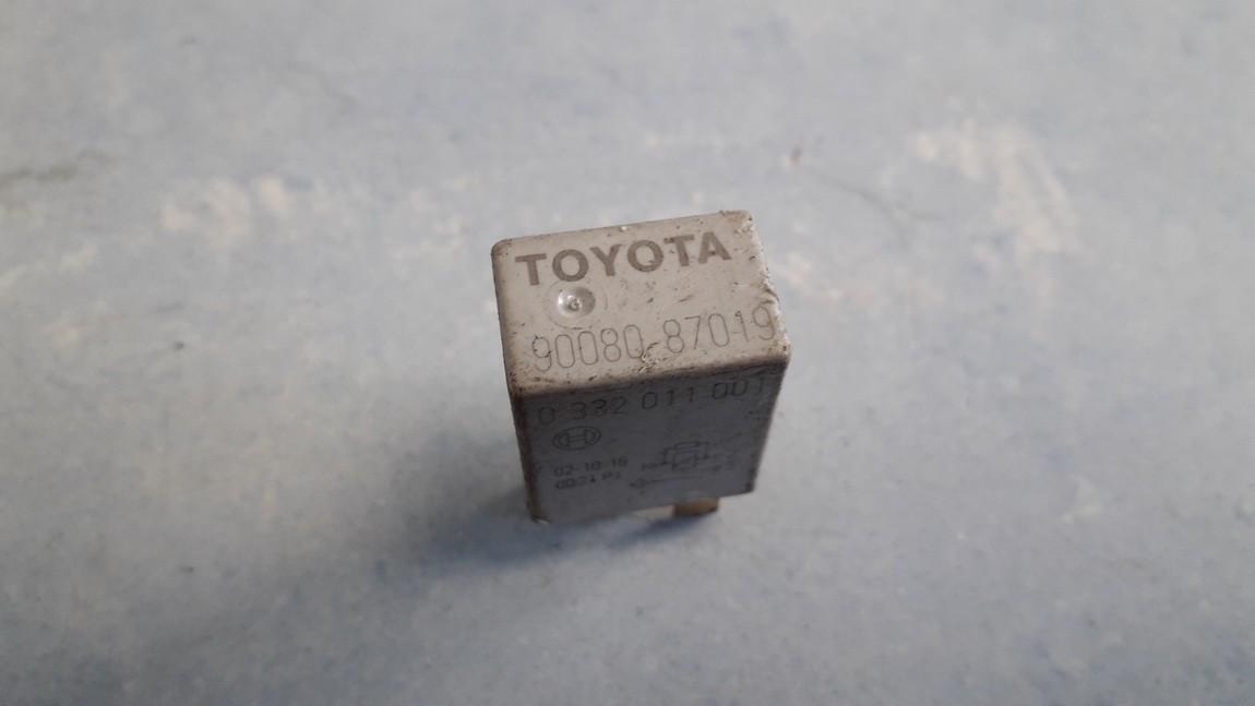 Rele 9008087019 90080-87019, 0332011001 Toyota AURIS 2009 2.0