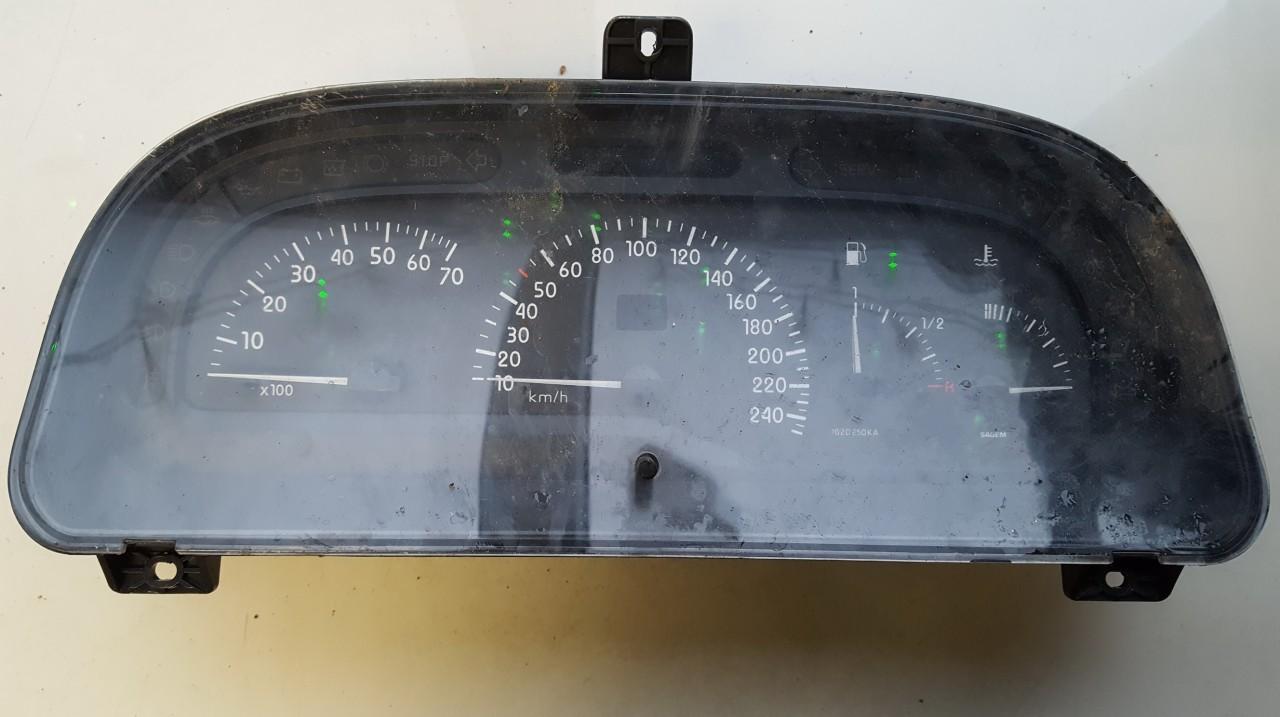 Spidometras - prietaisu skydelis Renault  Laguna