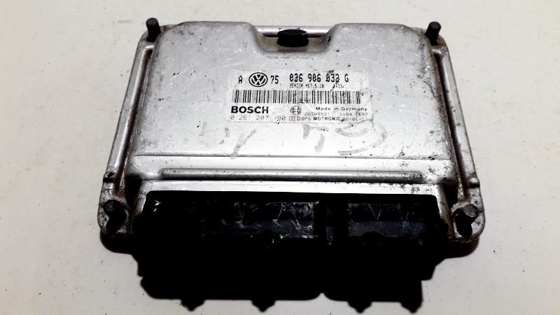 ECU Engine Computer (Engine Control Unit) 036906032g 0 261 207 190 Volkswagen GOLF 1992 1.4