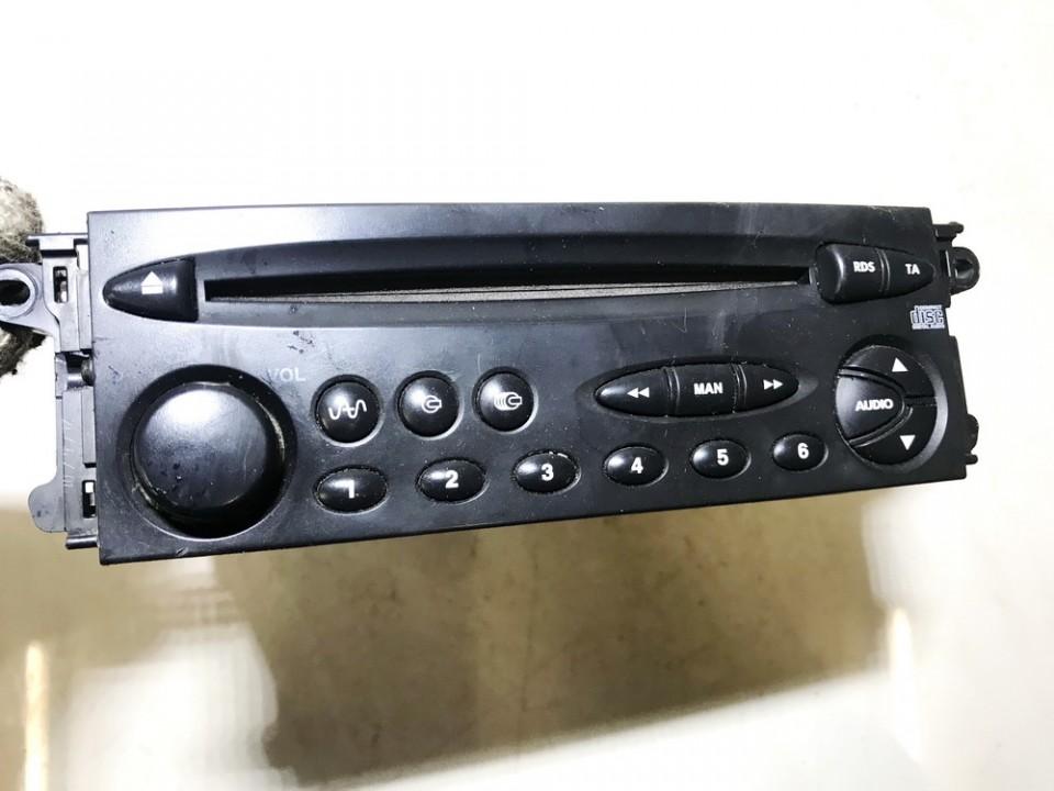 Automagnetola 9632592480 used Citroen XSARA PICASSO 2002 2.0
