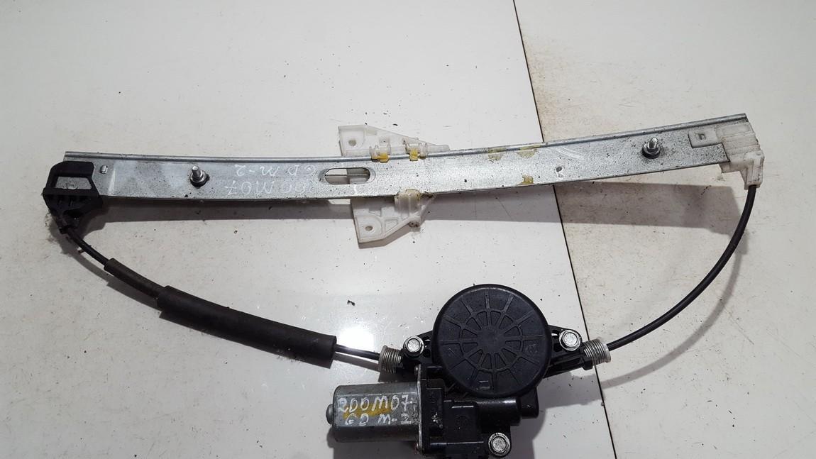 Mazda  2 Door winder mechanism (Window Regulator) rear right side