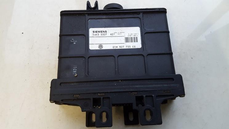 Greiciu dezes kompiuteris 01m927733cg 5wk3307 Audi A3 2001 1.8