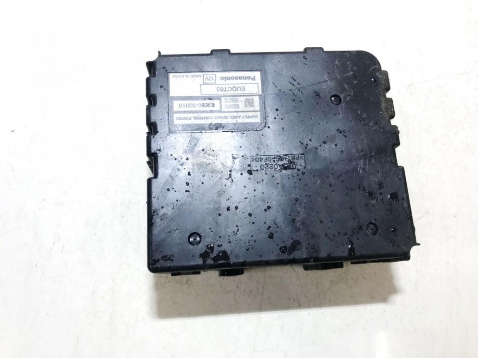 Rankinio stabdzio kompiuteris Toyota Prius 2008    1.5 8968033010