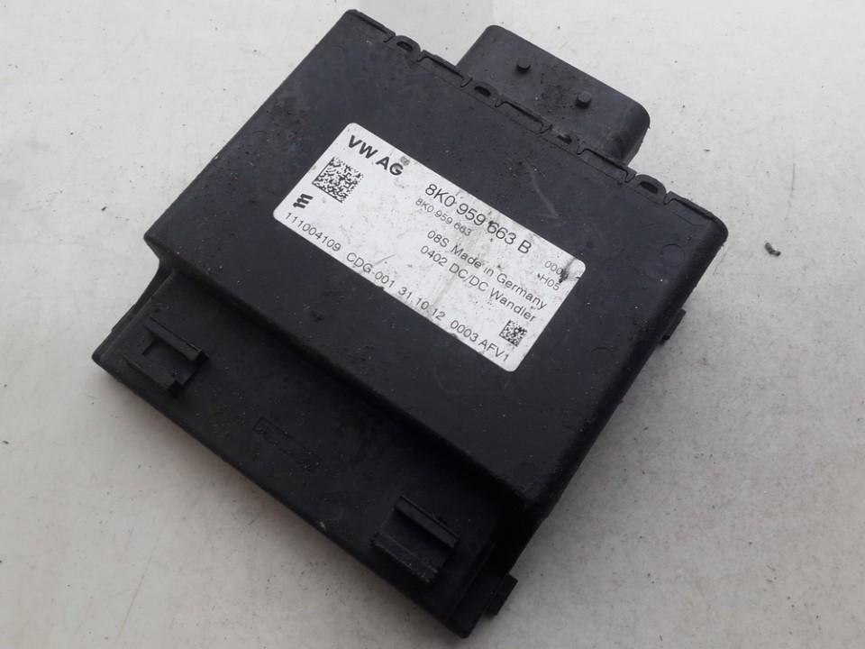 AUDI A4 (8K2, B8) Kiti valdymo blokai 8K0959663B 111004109 5138237