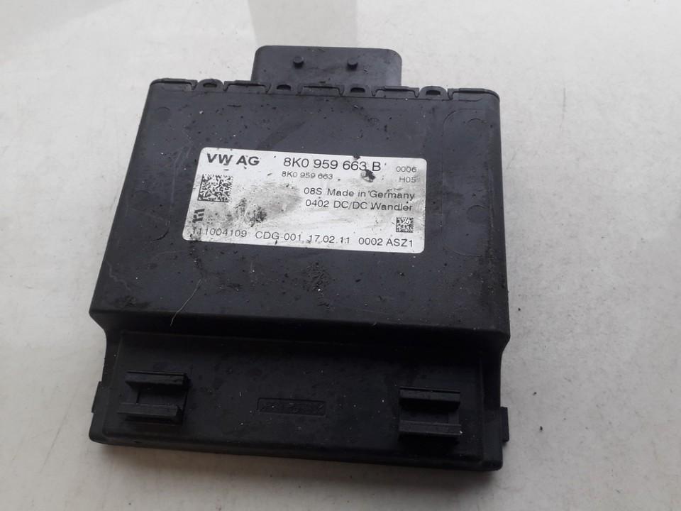 AUDI A4 (8K2, B8) Kiti valdymo blokai 8K0959663B 111004109 5138255